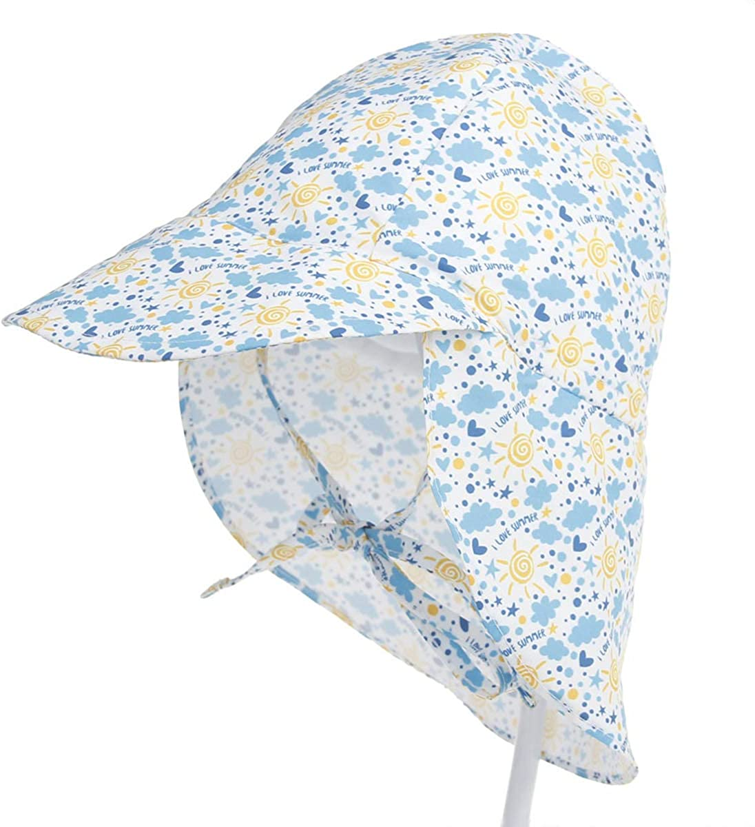 Soapow Milwaukee Mall Baby Quick-Drying Breathable Wide Hat Sun Protective Max 54% OFF