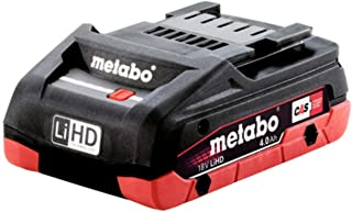 Metabo- 18V 4.0 Ah Lihd Compact Battery Pack (625367000), Batteries & Chargers for Current Tools