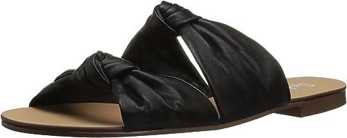 Splendid damen& 039;s Barton Flat Sandal, schwarz, schwarz, schwarz, 11 Medium US  Markenverkauf