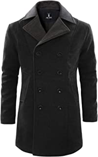 Best wool pea coat made in usa Reviews