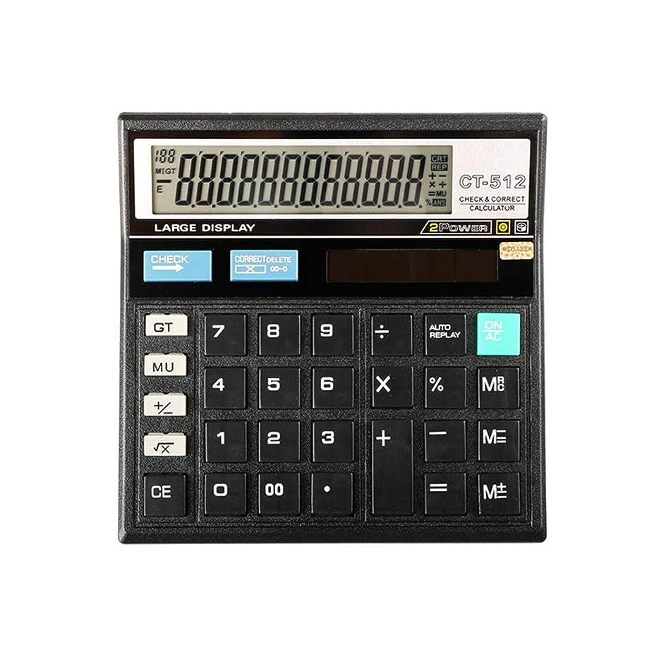 過去妻犬基本電卓 オフィス会計12桁特大ディスプレイ大型ボタンデスクトップ電卓 オフィスデスクトップ電卓 (色 : Photo Color, サイズ : ワンサイズ)