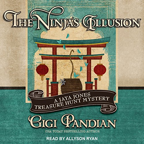The Ninja's Illusion audiobook cover art