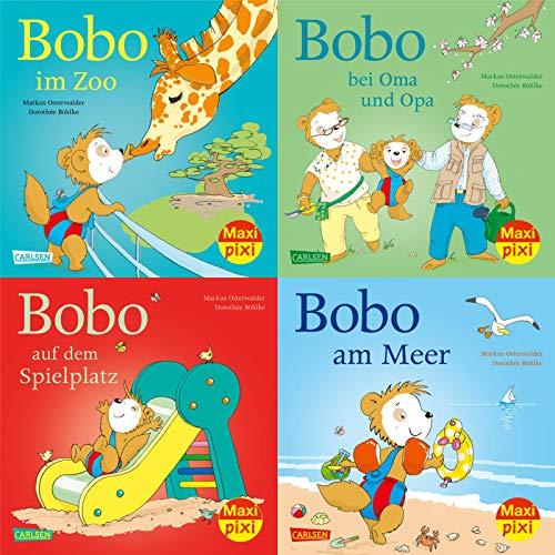 Maxi-Pixi-4er-Set 86: Bobo Siebenschläfer (4x1 Exemplar) (Maxi-Pixi-4er-Set, Band 86)