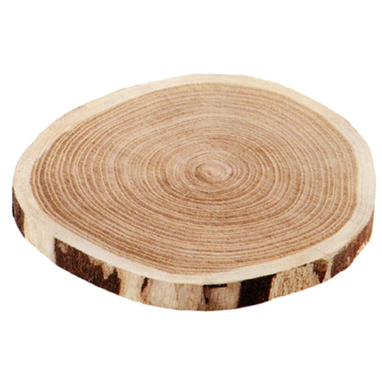 アパートそして省小柳産業 木のバームクーヘン なべ敷き 中 59008