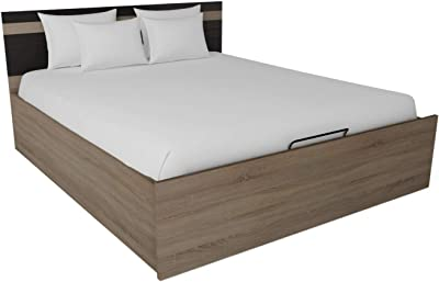 GODREJ INTERIO Particle Board Regular King Bed-(Matte_Grey)