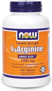 Arginine 1000mg - Now Foods - 120 Tablets (Pack of 3)