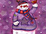 Fanxp Bonitos puzles de madera con muñeco de nieve, 1000 unidades, para pintura...