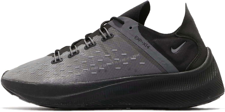 Nike Herren Exp-x14 Laufschuhe Mehrfarbig (schwarz Dark Wolf grau 004), 47.5 EU