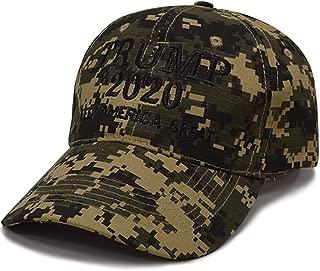 Ruinuo Camouflage Baseball Cap Make America Great Again Hat Trump Slogan Hat