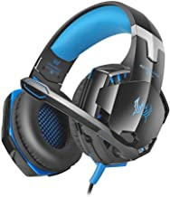 Widewing Gs600 Universal Headset Gaming Stereo Headphone W/Mic for Computer Blue