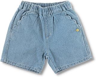 [ブランシェス] ポケットスカラップ デニム ショートパンツ 女の子 キッズ ガールズ ハーフパンツ ショーパン