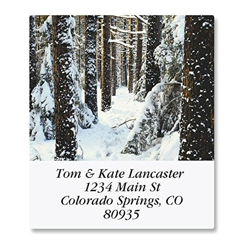 in The Trees Self-Adhesive, Flat-Sheet Select Address Labels (12 Designs)