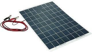 Bedler Silicio monocristalino Semi Flexible del Cargador de batería del Dispositivo del Panel Solar de 30W 12V policristal de Panel Solar Placa Solar Fotovoltaico Grado de Impermeabilidad IP65 Materi