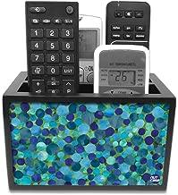 "Nutcase Designer Wooden Remote Control Holder Stand Organizer Caddy for TV/AC Remotes-Multipurpose Desk Organiser-6""x4""x4"""