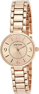 Anne Klein Women Rose Gold Tone Bracelet Watch Ak1870Rgrg, Analog Display