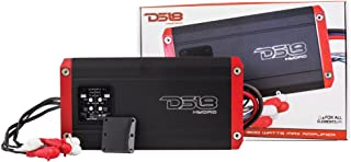 DS18 Hydro NXL400.4D Next Level Full Range Digital Marine 4-Channel 1200 Watts Max Multichannel Amplifier -All Elements for All Applications
