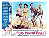 Posterazzi Beach Blanket Bingo Frankie Avalon Annette Funicello Mike Nader 1965 Movie Masterprint Poster Print, (14 x 11)