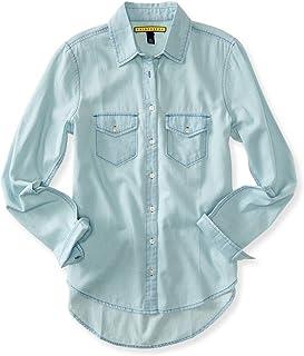 c477694daff Amazon.com  Juniors - Blouses   Button-Down Shirts   Tops