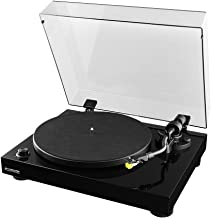 Fluance RT80 Classic High Fidelity Vinyl Turntable Record Player with Audio Technica AT91 Cartridge, Belt Drive, Built-in ...
