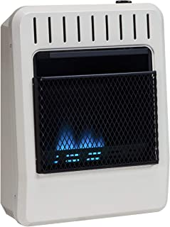 Avenger Dual Fuel Ventless Blue Flame Heater - 10,000 BTU, Model# FDT10BFA