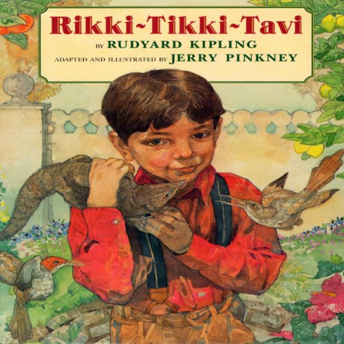 Rikki-Tikki-Tavi audiobook cover art