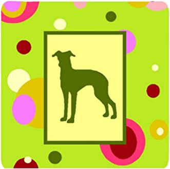 Carolines Treasures USA Patriotic Italian Greyhound Pair of Pot Holders BB3314PTHD Multicolor 7.5HX7.5W
