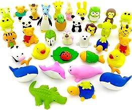 Dise/ño Japon/és Puzzle/ /Juego de goma de borrar Iwako Safari Animal Blister Pack/ /contiene 7/gomas de borrar