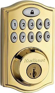Kwikset SmartCode 914 Traditional Electronic Smart Lock Deadbolt Featuring SmartKey Security & Z-Wave Plus Technology, Wor...