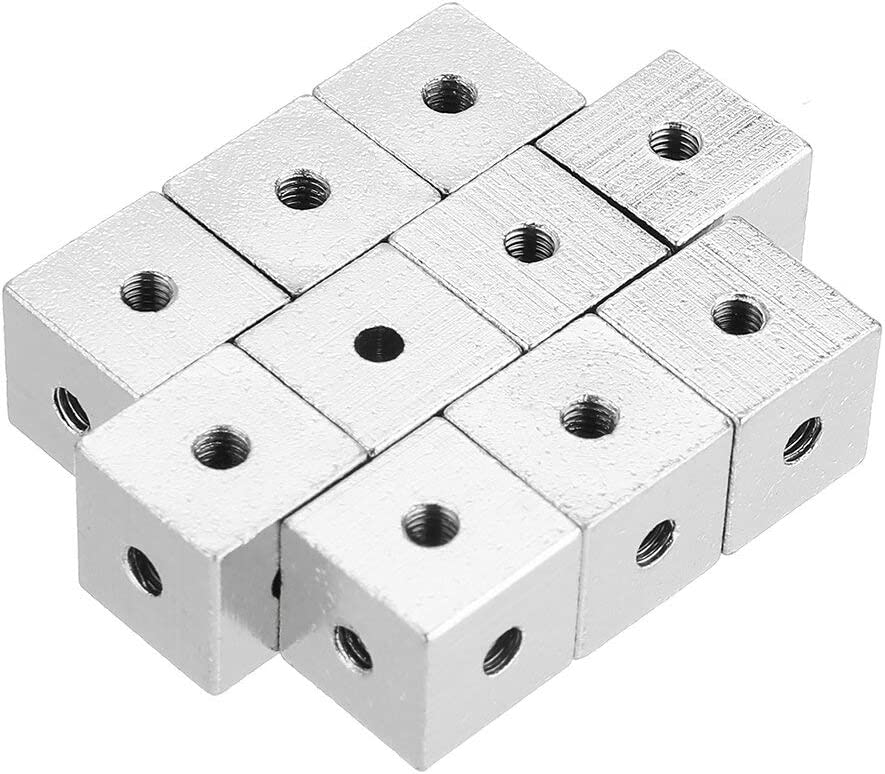 LanGuShi Useful Outlet SALE 10pcs 10x10x10mm Six-Sided Block Copper S sold out Frozen