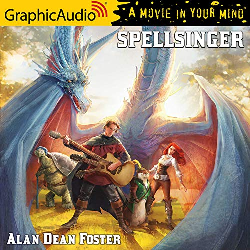 Couverture de Spellsinger [Dramatized Adaptation]