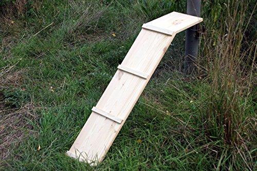 Unbekannt Katzentreppe Hühnerleiter Hühnertreppe Katzenleiter Katzenrampe Länge 80 cm