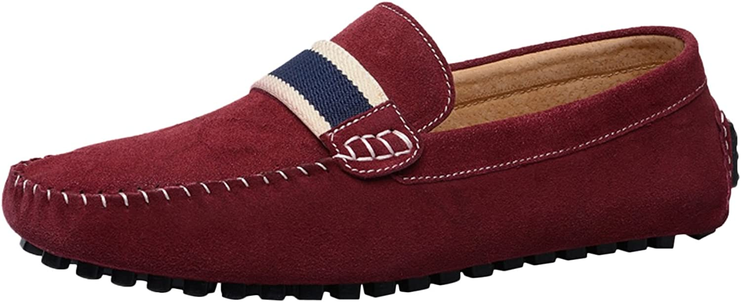 Casual driving moccasins slip on loafer