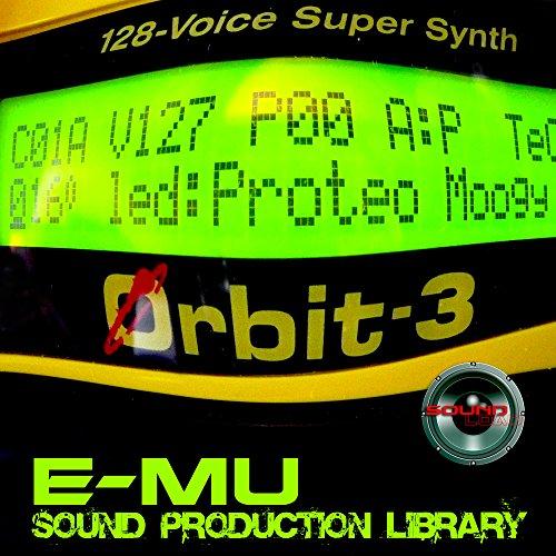 Save %60 Now! E-mu Orbit 3 - THE King of Dance Modules - Large Original 24bit Multi-Layer WAVe/Konta...