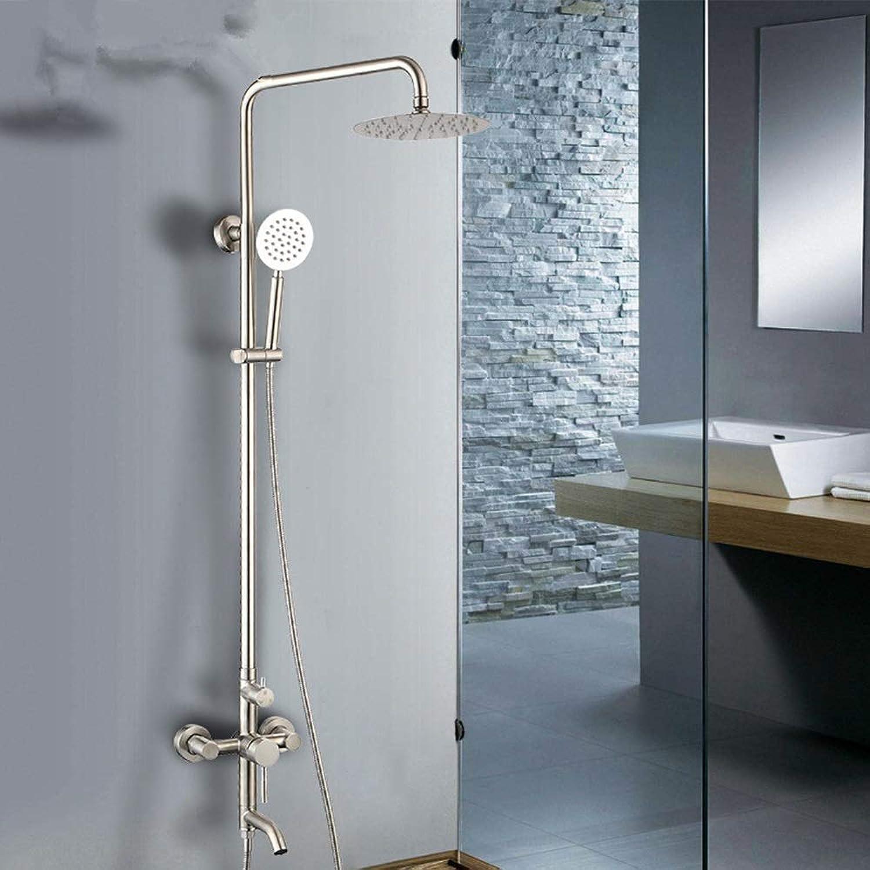 304 Edelstahl Duschset Dusche Multifunktions Hebe Handbrause Booster Wasser Sparende Düse Duschkopf Feste Duschkpfe