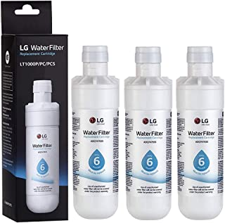 LT1000P Refrigerator Water Filter Replacement for LG LT1000P, LT1000PC, LT-1000PC MDJ64844601(3-Pack)