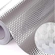 PiniceCore Decoración de Aluminio Cocina de la Hoja Pegatinas Maison Etiqueta Auto-Adhesivo del Papel Pintado Impermeable para Muebles