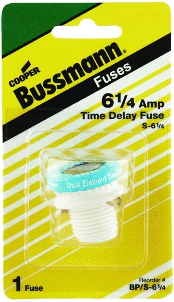 Bussman BP S-6-1 4 6-1 Dual-Element B Rejection Gifts Time-Delay Indefinitely Amp