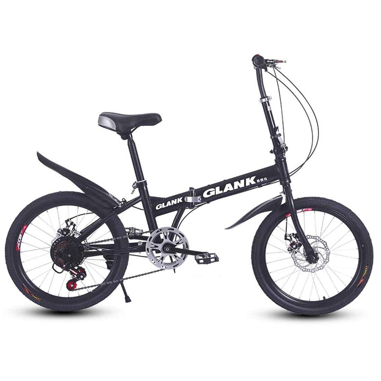 やむを得ない広告傷つきやすい人の女性二重ディスクブレーキシステムのための大人の自転車6インチの折り畳み式の自転車