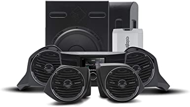 Rockford Fosgate YXZ-STAGE5 400 Watt Amplified Stereo, Front Upper & Lower Speaker, and Subwoofer Kit for Select 2016-2020...