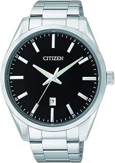 ساعة سيتيزن كوارتز للرجال- انالوج وسوار من الستانلس ستيل - BI1030-53E
