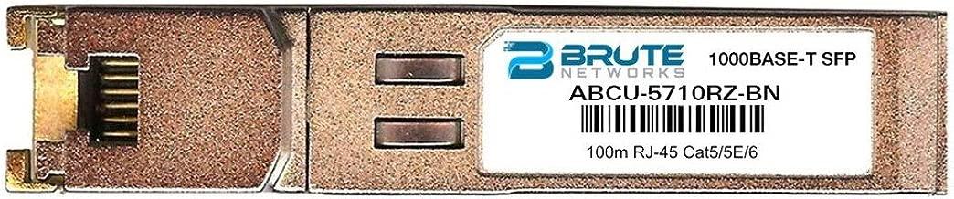 Brute Networks ABCU-5710RZ-BN - 1000BASE-T 100m RJ45 SFP Transceiver (Compatible with OEM PN# ABCU-5710RZ)