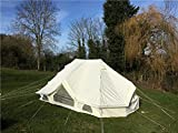 Canvastentshop Prairie Tente Tente de Bell Glamping 6x 4m