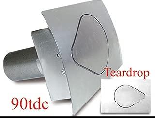 Hagan Street Rod Necessities 90TDC TEARDROP FUEL DOOR