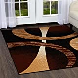 Home Dynamix Indus Modern Area Rug, 8x10, Brown/Cream