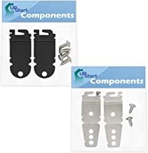 UpStart Components Brand Compatible with W10195416V Dishwasher Wheel 4-Pack W10195416 Lower Dishwasher Wheel Replacement for Maytag MDB7749SBM2 Dishwasher