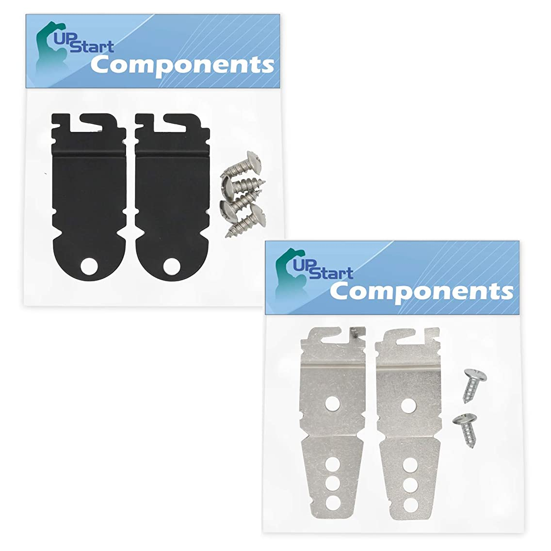 8212560 & 8269145 Mounting Bracket Replacement Kit With Screw Replacement for Kenmore/Sears 66513473K901 Dishwasher - Compatible with WP8269145 & 8212560 Undercounter Dishwasher Mounting Bracket