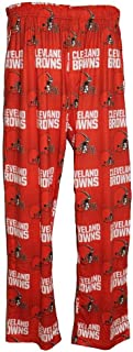 FOCO Cleveland Browns Men's Scatter Pattern Pajama Lounge Multi Color Pants