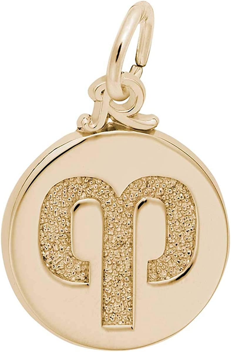 Rembrandt Charms Aries Washington Mall Super beauty product restock quality top Charm Gold 10K Yellow