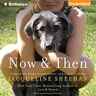 Now & Then audiobook cover art