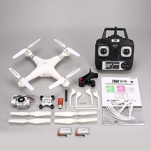 mejor precio ZinESaya ZinESaya ZinESaya SH5HD 720P Adjustable HD WiFi Camera FPV RC Drone Altitude Hold 2 Batteries  mas preferencial
